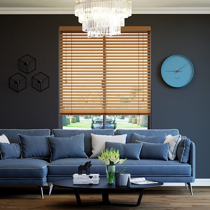 Bright Copper 50mm Premium Aluminium Venetian Blinds