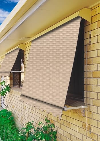 Paperbark Eco Sunscreen Automatic Outdoor Awnings