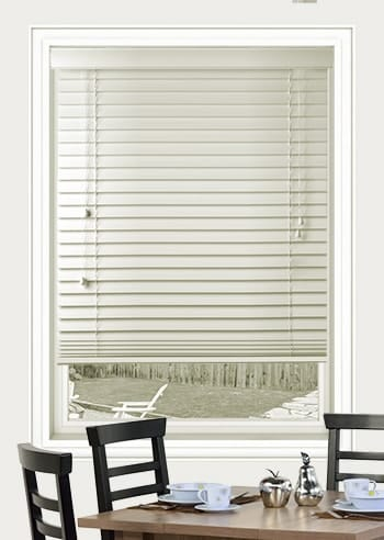 Dove 63mm Basswood Venetian Blinds