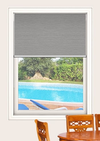 Dove Balmoral Blockout Double Roller Blinds
