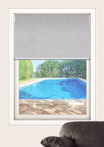 Chiffon Cai Blockout Double Roller Blinds