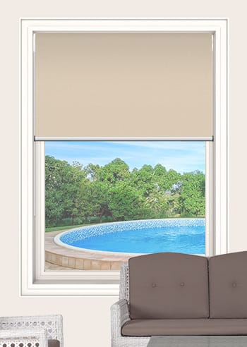 Sandstone Elite Blockout Double Roller Blinds