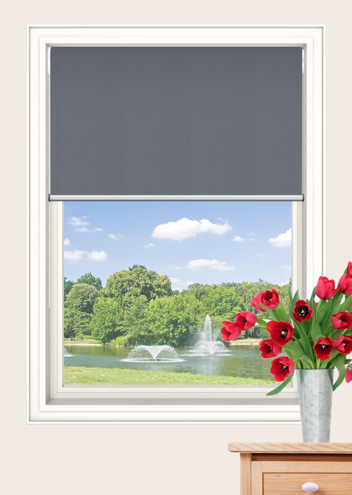 Half Tuna Foundation Blockout Double Roller Blinds