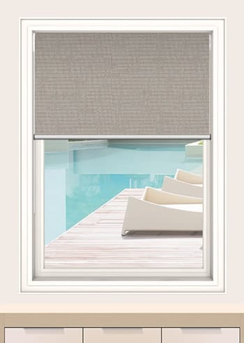 Chinchilla Lisbon Blockout Double Roller Blinds