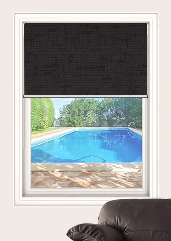 Night Sky Lisbon Blockout Double Roller Blinds