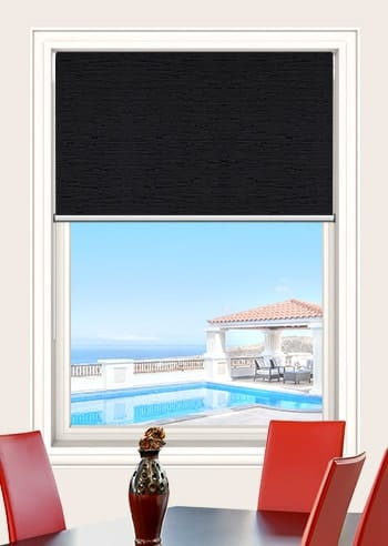 Midnight Monte Carlo Blockout Double Roller Blinds