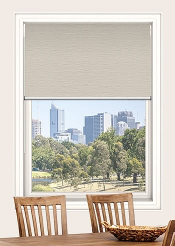 Mushroom Monte Carlo Blockout Double Roller Blinds