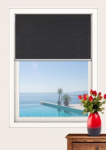 Gravel Monte Carlo Translucent Double Roller Blinds