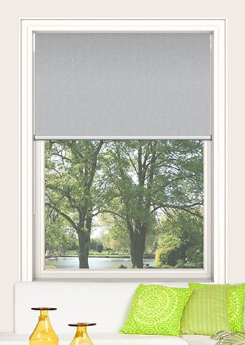 Silver Chalice Paris Blockout Double Roller Blinds