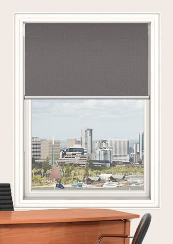 Delta Santini Blockout Double Roller Blinds