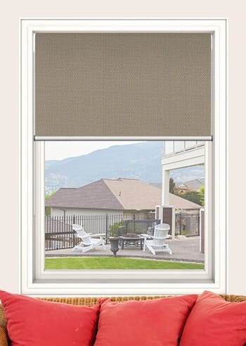 Stone Santini Blockout Double Roller Blinds