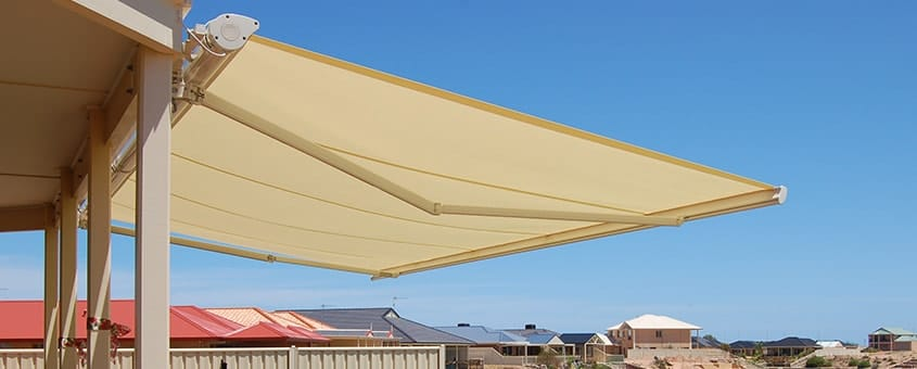 Buy Folding Arm Awnings online from Half Price Blinds.