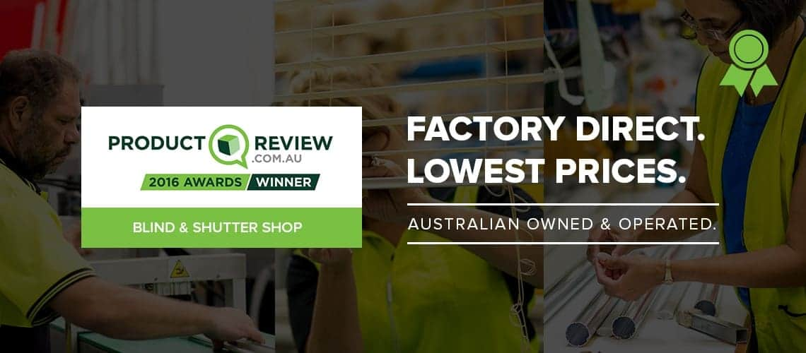 Blind and Shutter Shop ProductReview 2016 Winner