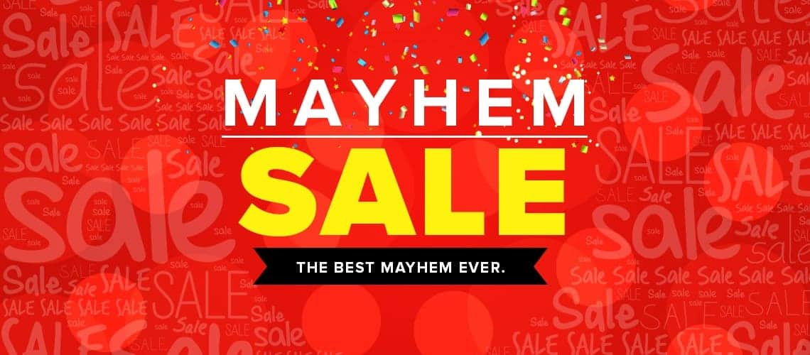 Mayhem Sale