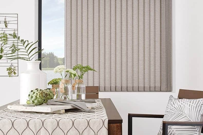 off vertical blinds