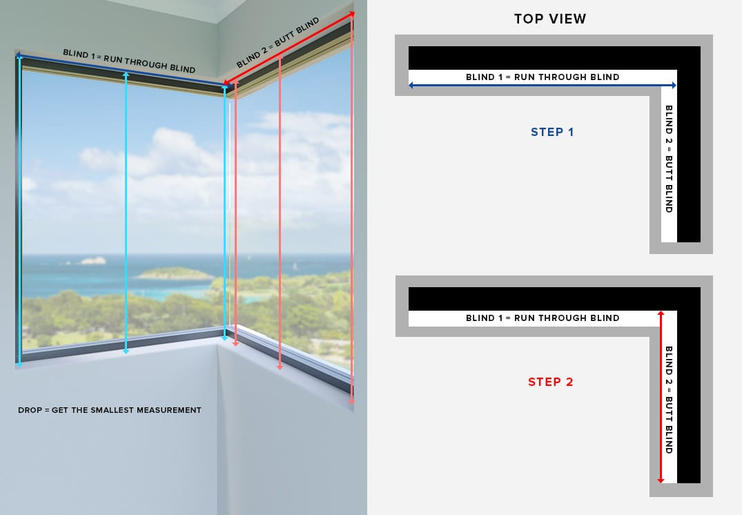 Measuring for Corner Window