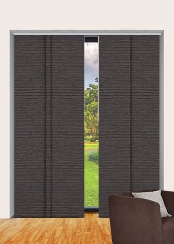 Bourneville Balmoral Blockout Panel Glide Blinds