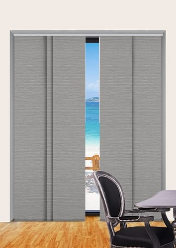 Dove Balmoral Blockout Panel Glide Blinds