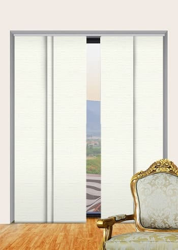 Pearl Balmoral Blockout Panel Glide Blinds