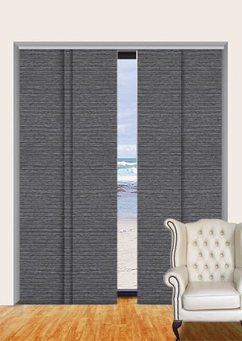 Steel Balmoral Blockout Panel Glide Blinds