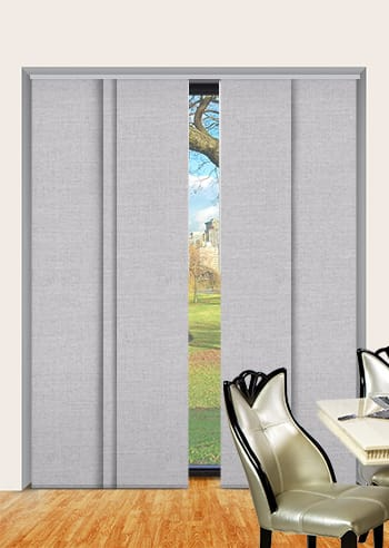 Chiffon Cai Blockout Panel Glide Blinds