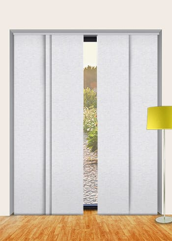 Oyster Cai Blockout Panel Glide Blinds