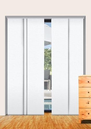 Porcellin Cai Blockout Panel Glide Blinds