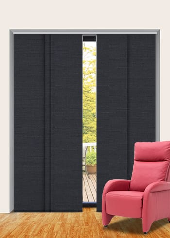 Raven Cai Blockout Panel Glide Blinds