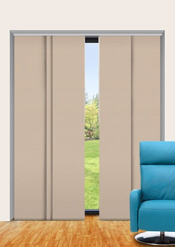 Brushwood Elite Blockout Panel Glide Blinds