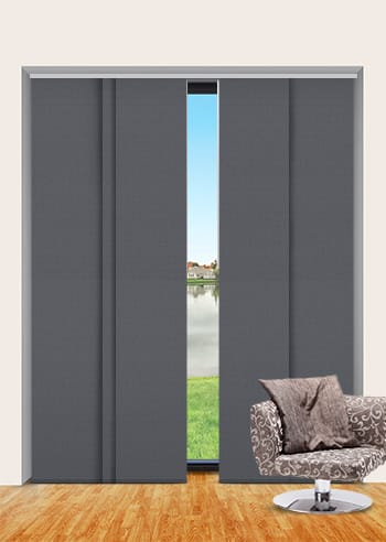 Ironstone Elite Blockout Panel Glide Blinds