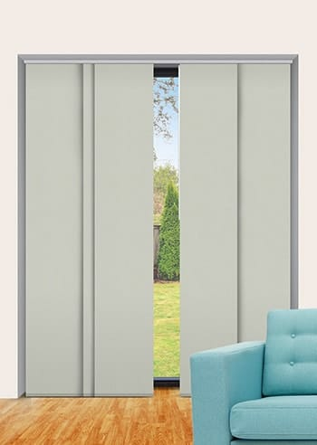 Olive Elite Blockout Panel Glide Blinds