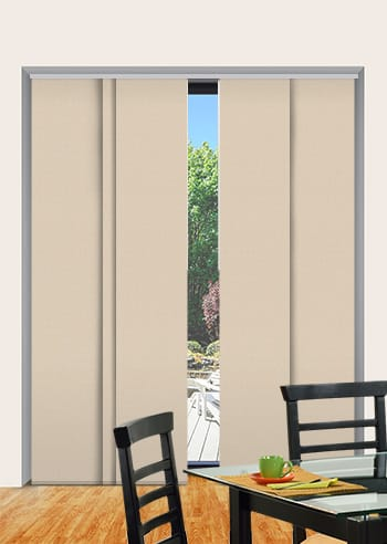 Sandstone Elite Blockout Panel Glide Blinds