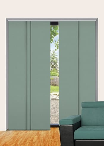 Seagreen Elite Blockout Panel Glide Blinds