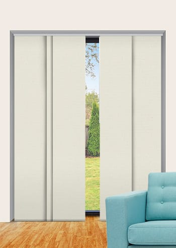 Spirit Elite Blockout Panel Glide Blinds