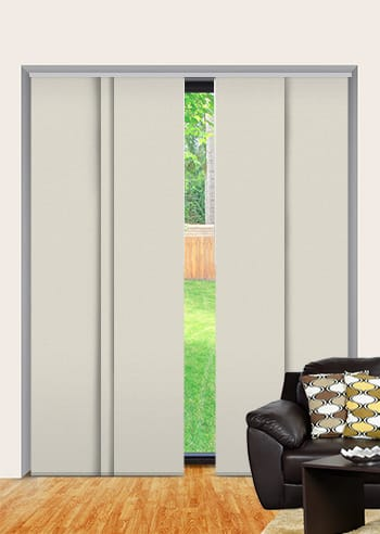 Whisper Elite Blockout Panel Glide Blinds