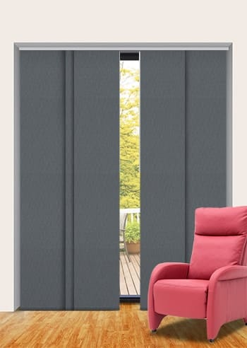 Baltic Madrid Blockout Panel Glide Blinds Online Half