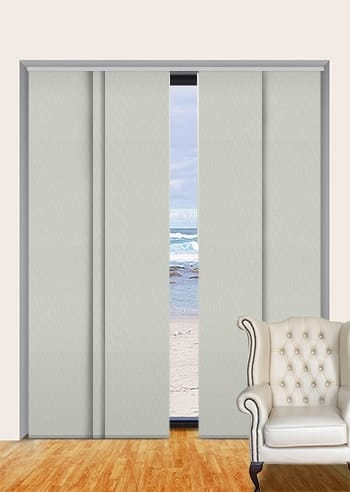 Ceramic Madrid Blockout Panel Glide Blinds