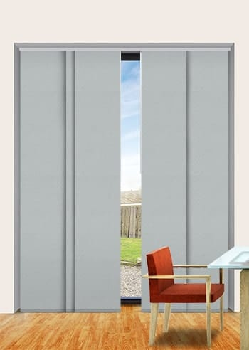 Suede Madrid Blockout Panel Glide Blinds