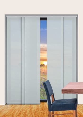 Mineral Madrid Translucent Panel Glide Blinds