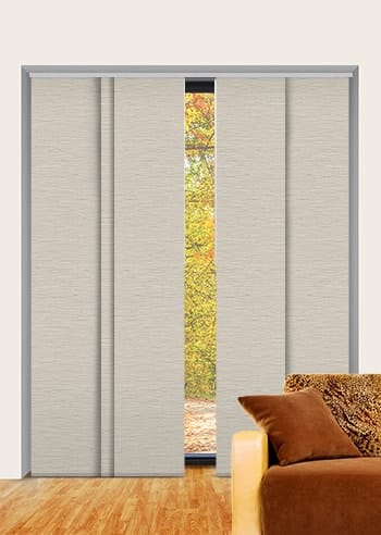 Mushroom Monte Carlo Blockout Panel Glide Blinds