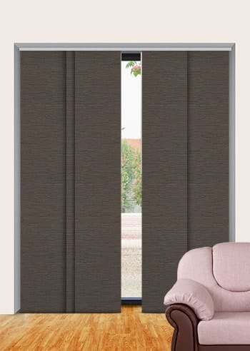 Stone Monte Carlo Blockout Panel Glide Blinds