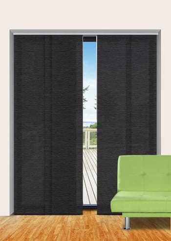 Gravel Monte Carlo Translucent Panel Glide Blinds