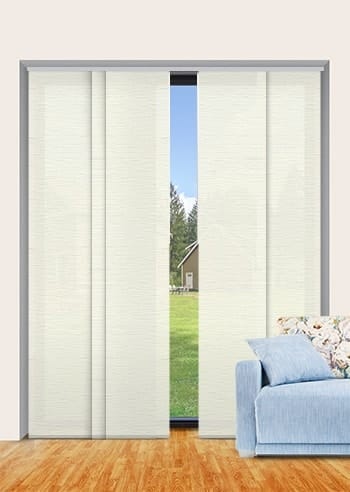 Pearl Monte Carlo Translucent Panel Glide Blinds