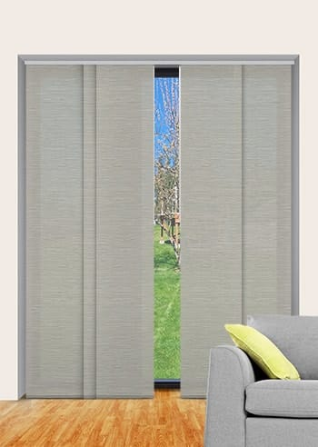 Platinum Monte Carlo Translucent Panel Glide Blinds