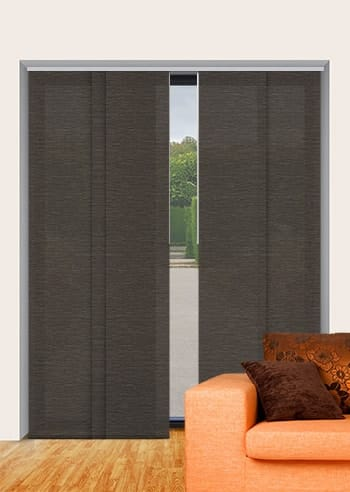 Stone Monte Carlo Translucent Panel Glide Blinds