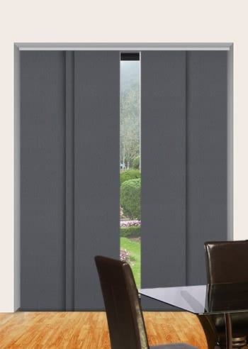 Baltic Sea Paris Blockout Panel Glide Blinds