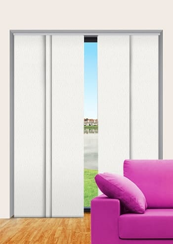 Rice Cake Paris Blockout Panel Glide Blinds