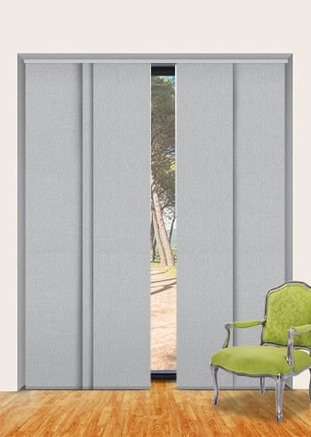 Silver Chalice Paris Blockout Panel Glide Blinds