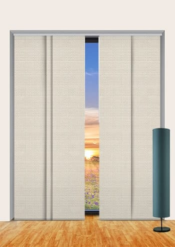 Pebble Santini Blockout Panel Glide Blinds