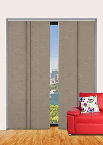 Stone Santini Blockout Panel Glide Blinds